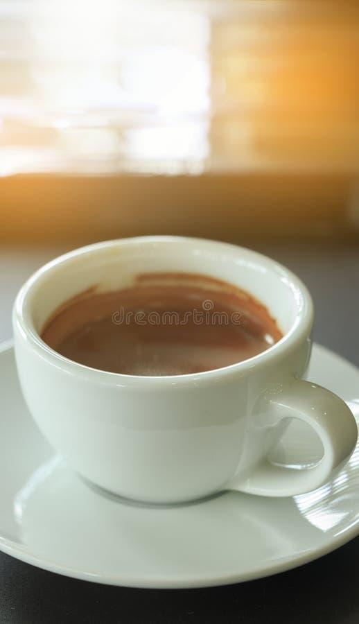 espresso кофейной чашки стоковое изображение