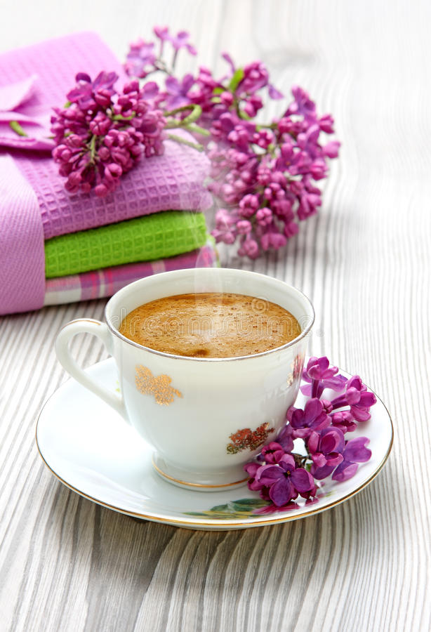 espresso кофейной чашки стоковое изображение rf