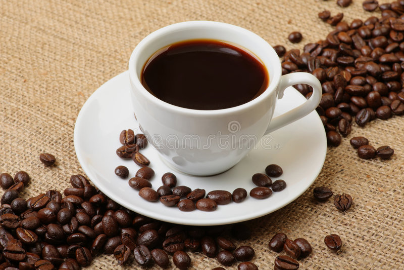 espresso кофе фасолей стоковые изображения
