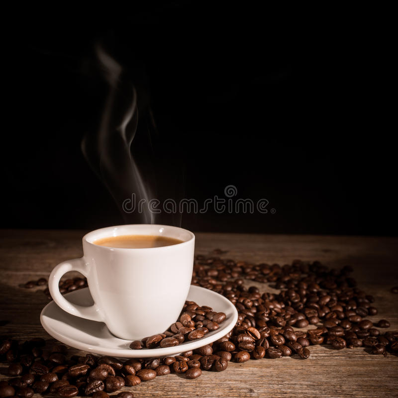Espresso royalty-vrije stock afbeeldingen