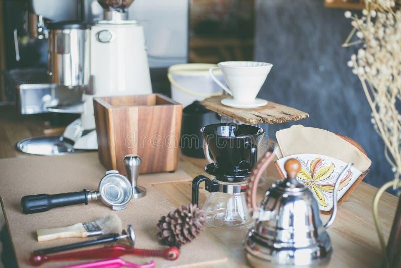 Espresso bar stock image