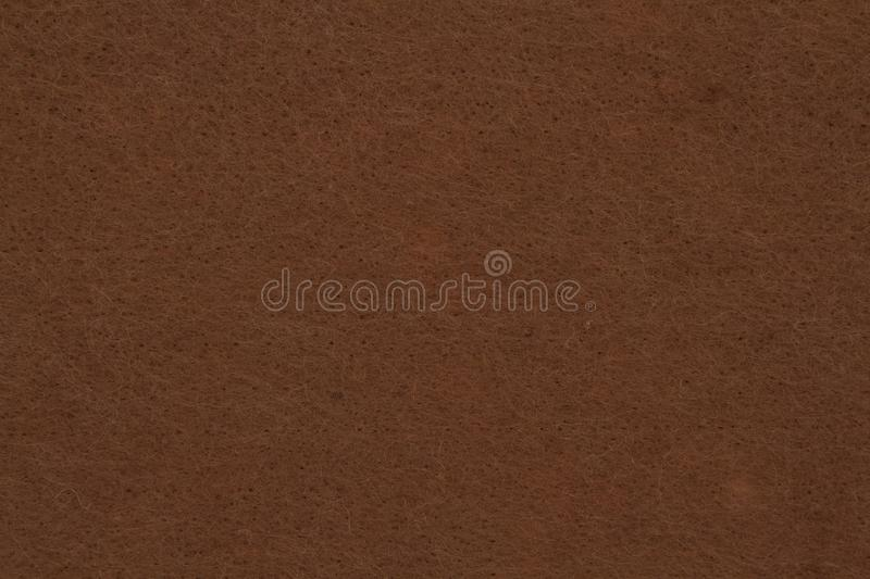 Espresso brown textured felt fabric material background stock photos