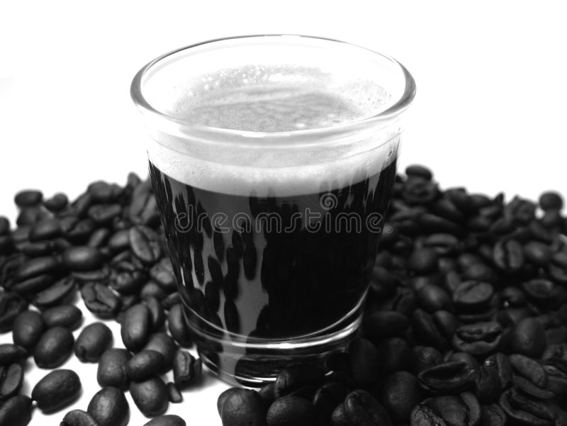 Download Espresso coffee stock image. Image of isolated, beverage - 35037