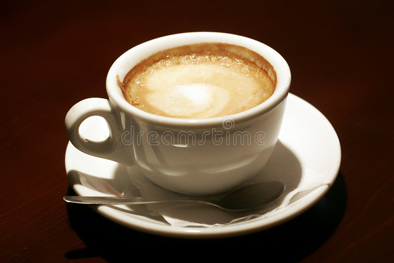Download Espresso coffee stock photo. Image of milk, isolated, drink - 7245004