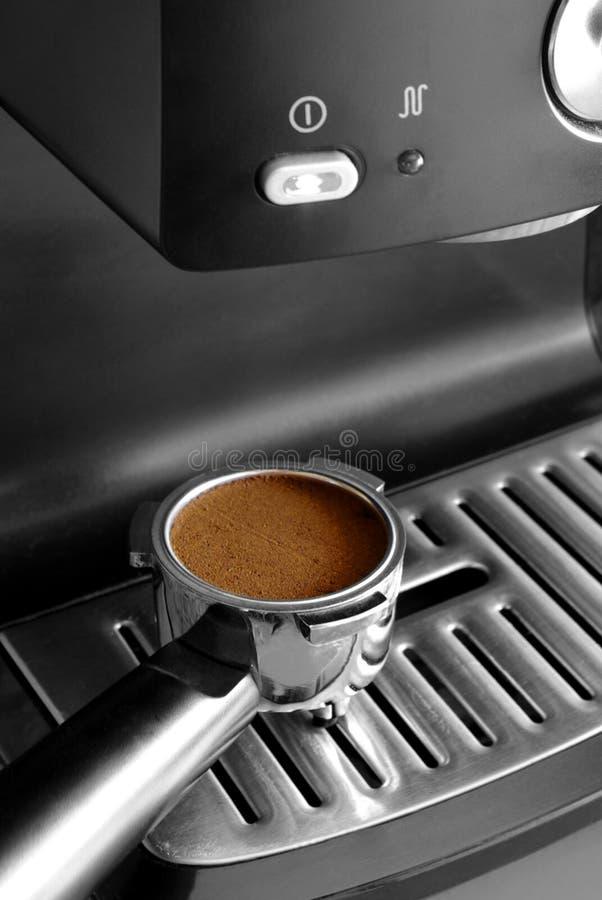 Espresso-Dosis lizenzfreie stockbilder
