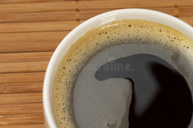 Download Espresso fragment stock photo. Image of macro, froth - 16608150