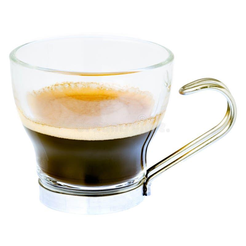Espresso-Kaffee stockfotografie