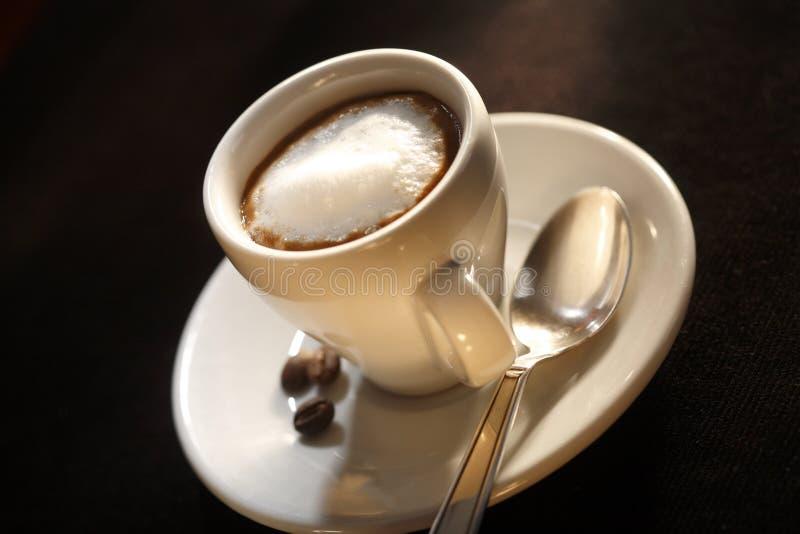Espresso Macchiato stock afbeelding