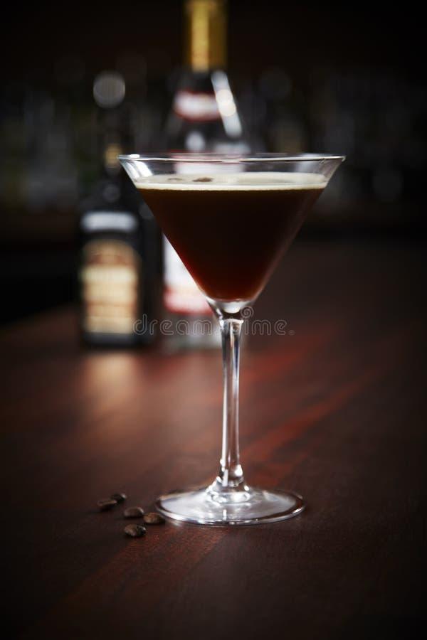 Espresso martini arkivfoton