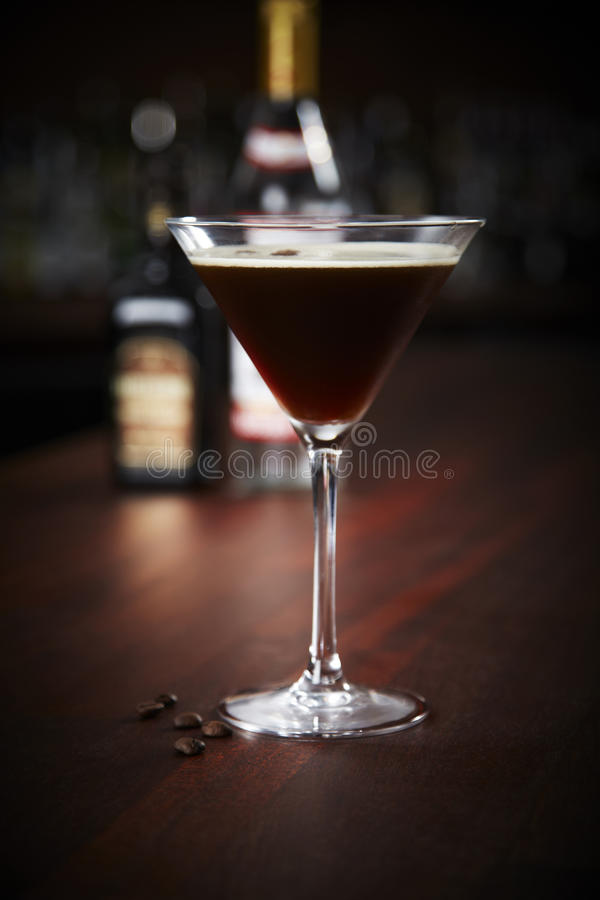 Espresso Martini stockfotos
