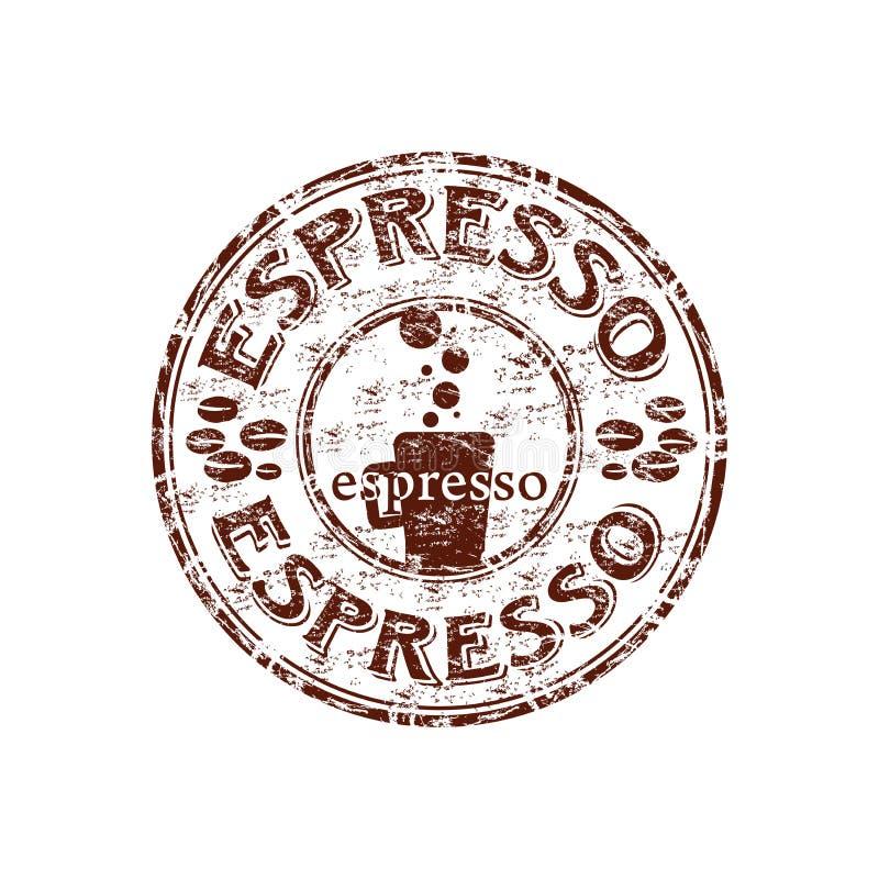 Download Espresso rubber stamp stock vector. Image of latte, cappuccino - 12120360