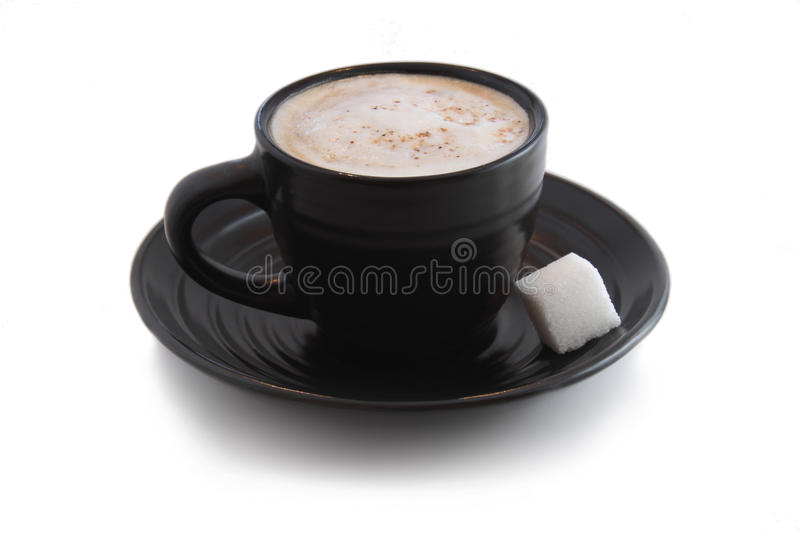 Download Espresso with Sugar Cube stock photo. Image of white - 12232432