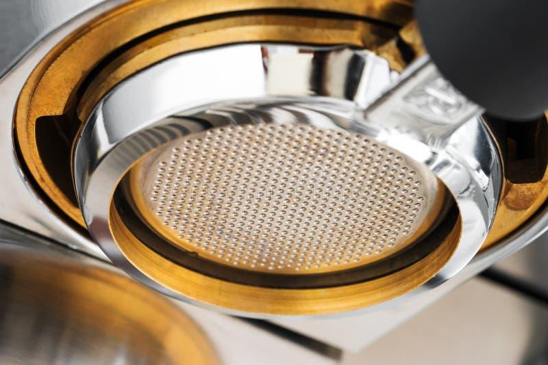 Espressoextractie royalty-vrije stock fotografie