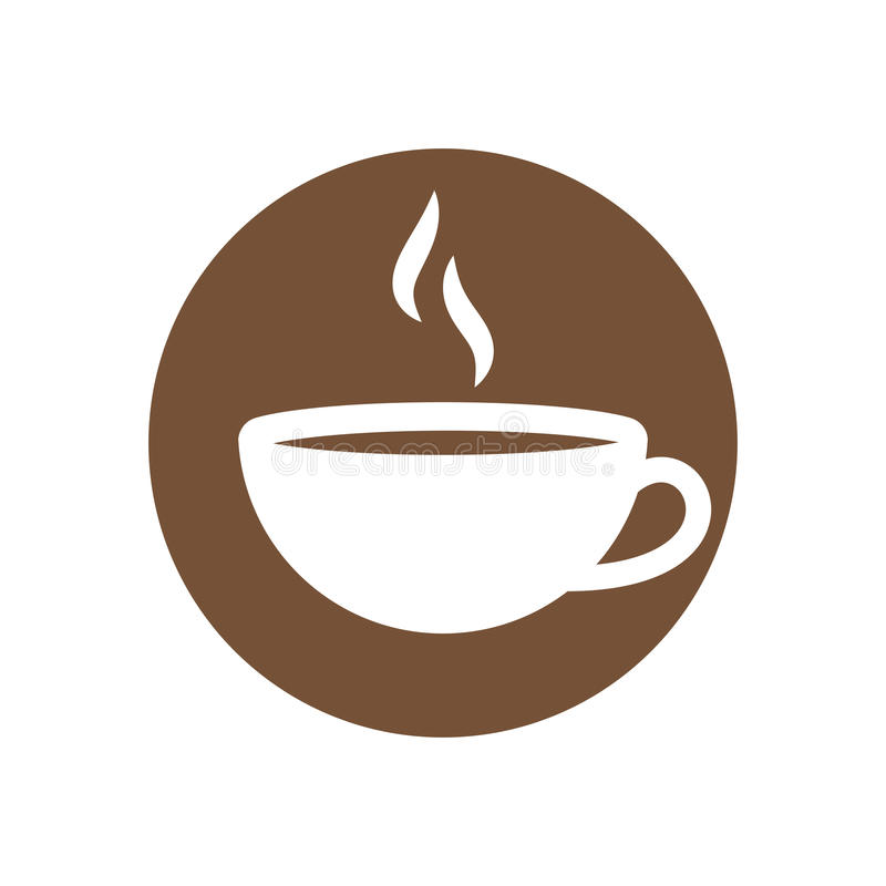 Espressoikone stock abbildung