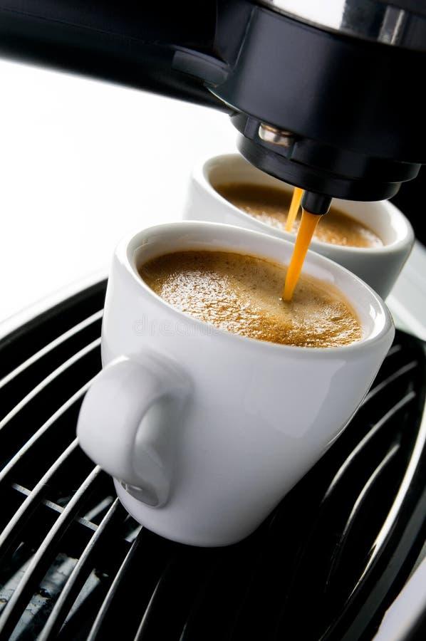 Espressokaffee stockfotos