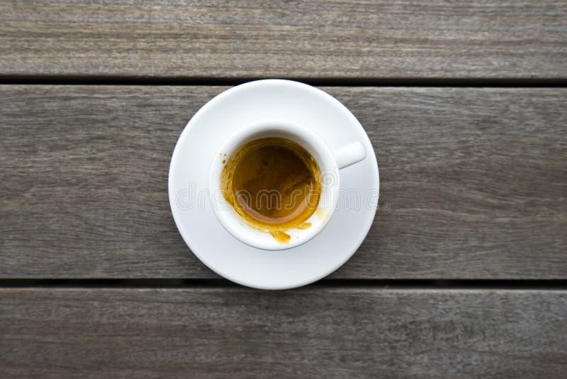 Espressokopp 1 arkivfoton