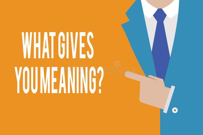 Esprima il testo di scrittura che elasticità voi domanda di significato Concetto di affari per il vostro scopo o intenzioni nella royalty illustrazione gratis