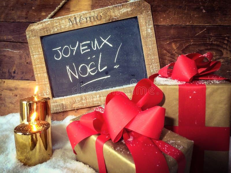Esprit de Noël? avec Santa et Noel photos libres de droits