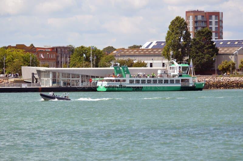 Esprit de Portsmouth, ferry de Gosport hampshire photos libres de droits
