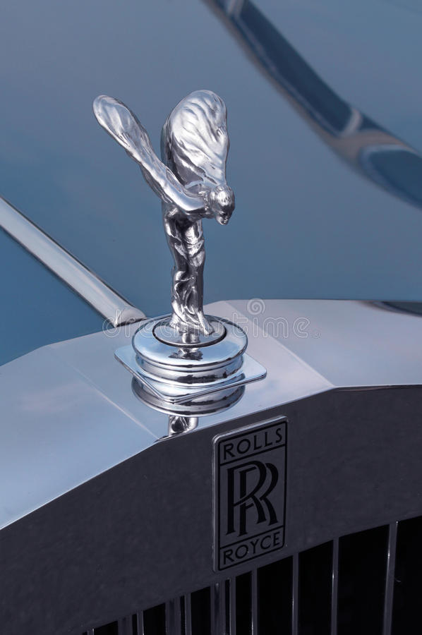 Esprit de Rolls Royce d'extase photos stock