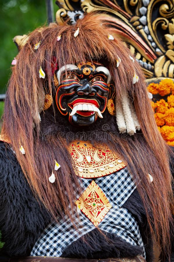 Esprit traditionnel d'île de Bali - Barong Landung Jero Gede image libre de droits
