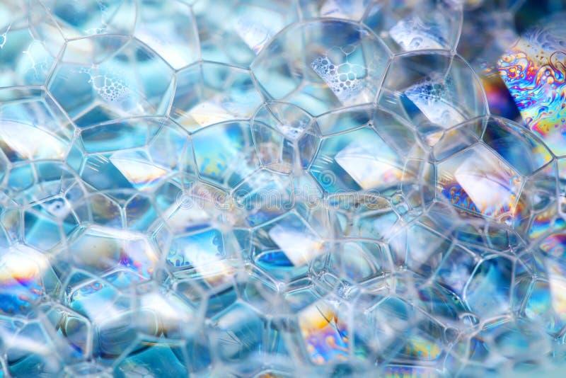 Espuma del jabón foto de archivo