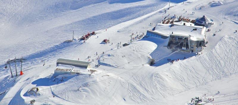 Esquí Alpino Foto de archivo