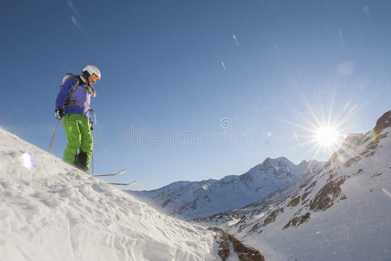 Esquí alpino imágenes de archivo libres de regalías