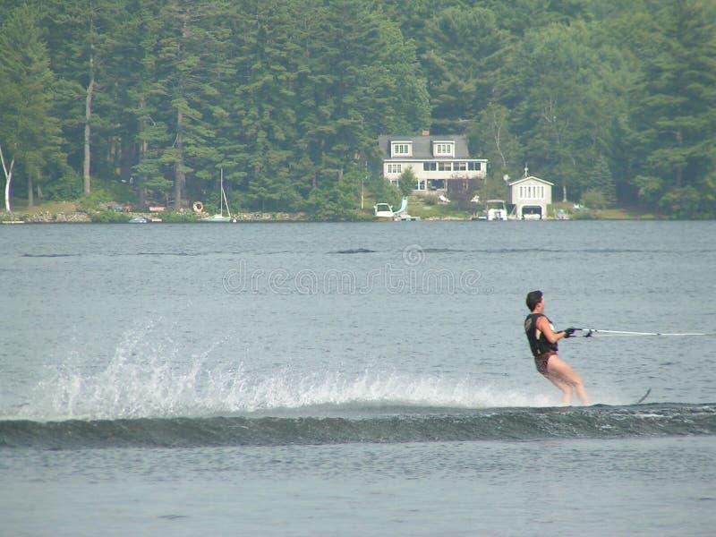 Esquí de agua fotos de archivo libres de regalías