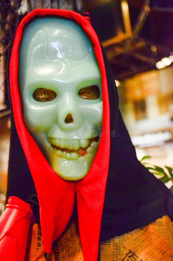 Esqueleto de Halloween foto de archivo libre de regalías