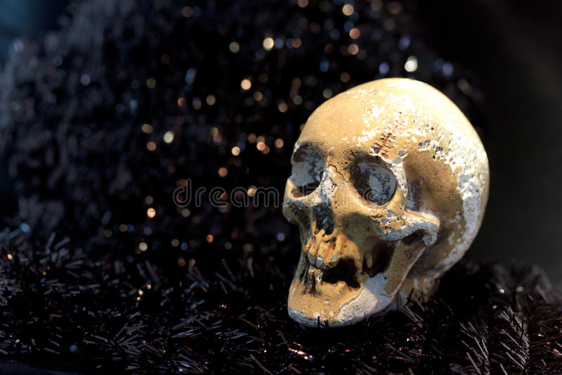 Esqueleto de la muerte fotos de archivo libres de regalías