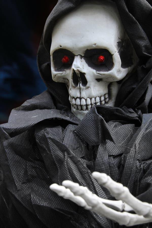 Esqueleto de Víspera de Todos los Santos foto de archivo
