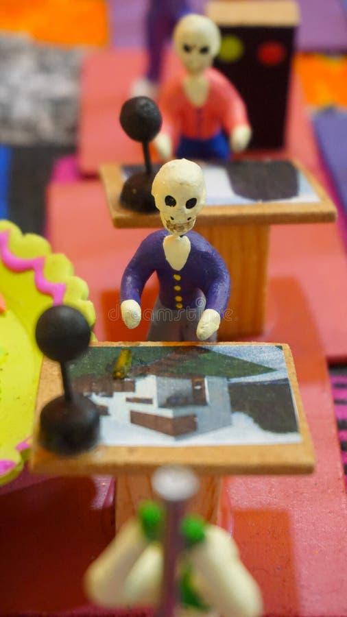 Esqueleto del diseñador fotos de archivo libres de regalías
