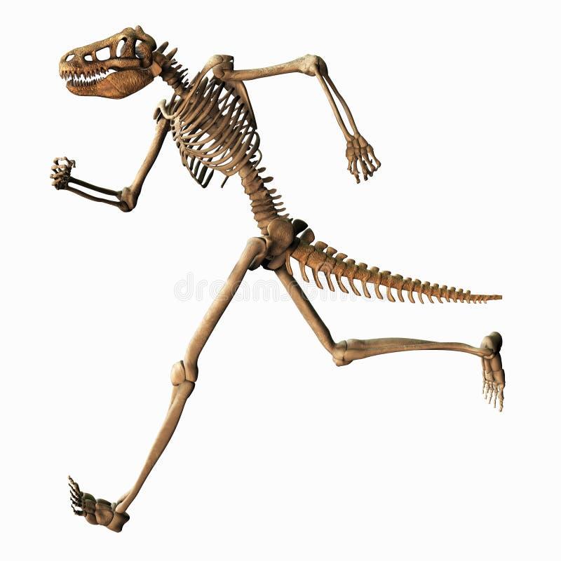 Esqueleto quimérico stock de ilustración