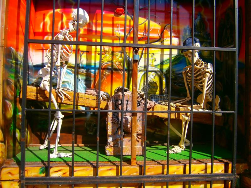Esqueletos fotos de stock royalty free
