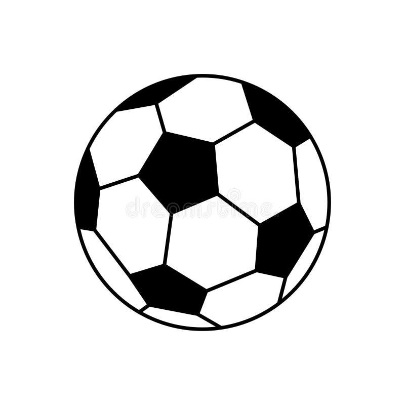 Esquema del terraplén del fútbol ilustración del vector