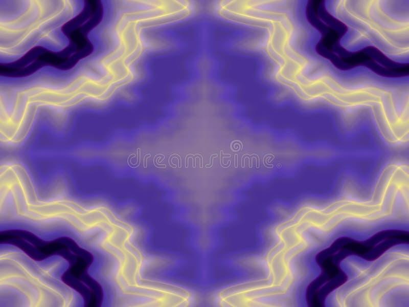 Esquema ondulado del marco bastante ilustración del vector
