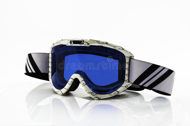 Esqui dos óculos de proteção imagem de stock