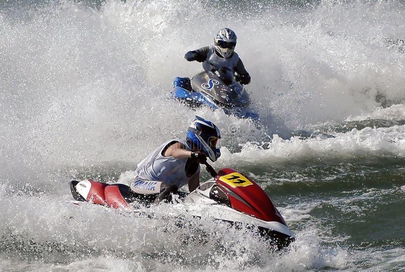 Esqui Race-16 do jato foto de stock royalty free