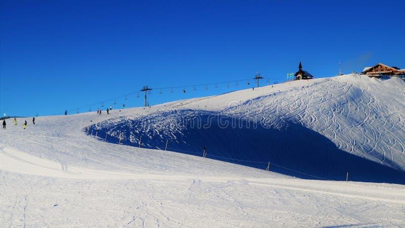 Esquia a bacia fotografia de stock royalty free
