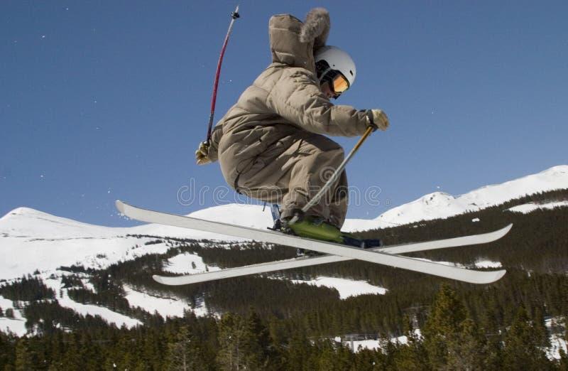 Esquiador de D79 Superpipe fotos de stock royalty free