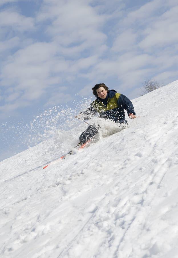 Esquiador que cae