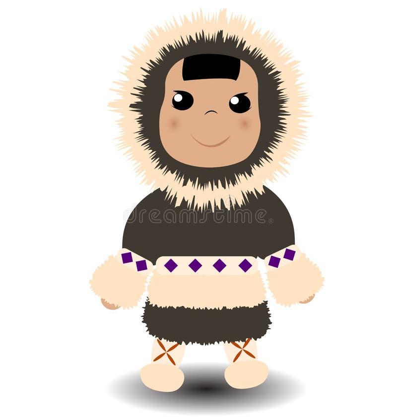 esquimó ilustração royalty free