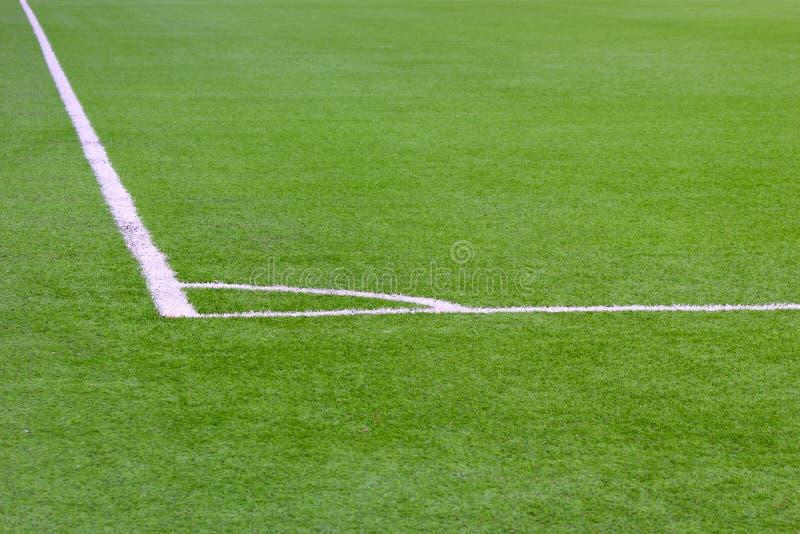 Esquina de un campo de fútbol