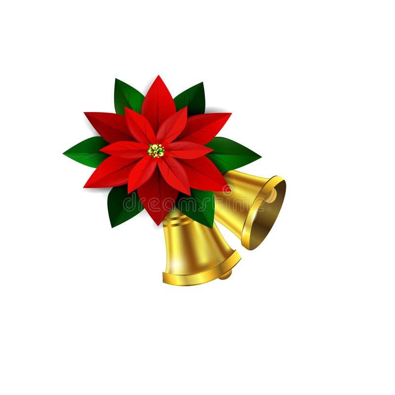 Esquina decorativa de la Navidad del vector ilustración del vector