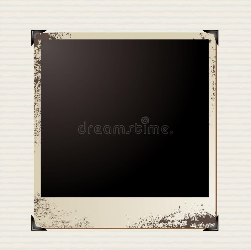 Esquina del cuadro stock de ilustración