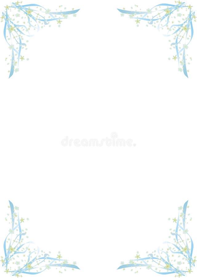 Esquinas florales libre illustration