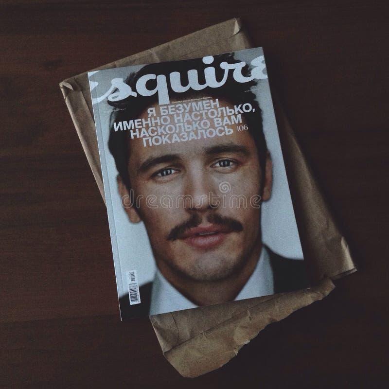 Esquire royalty free stock photos