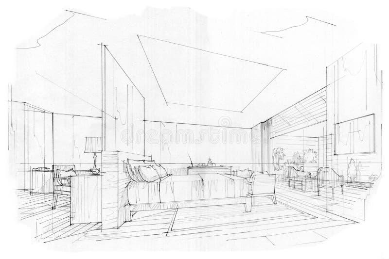 Beautiful Chambre En Perspective Frontale Photos - Design Trends ...