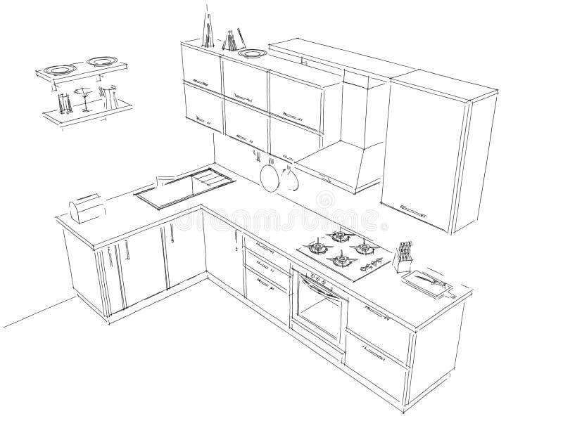 Dessiner cuisine en 3d gratuit trendy ambaince cuisine for Dessin 3d cuisine
